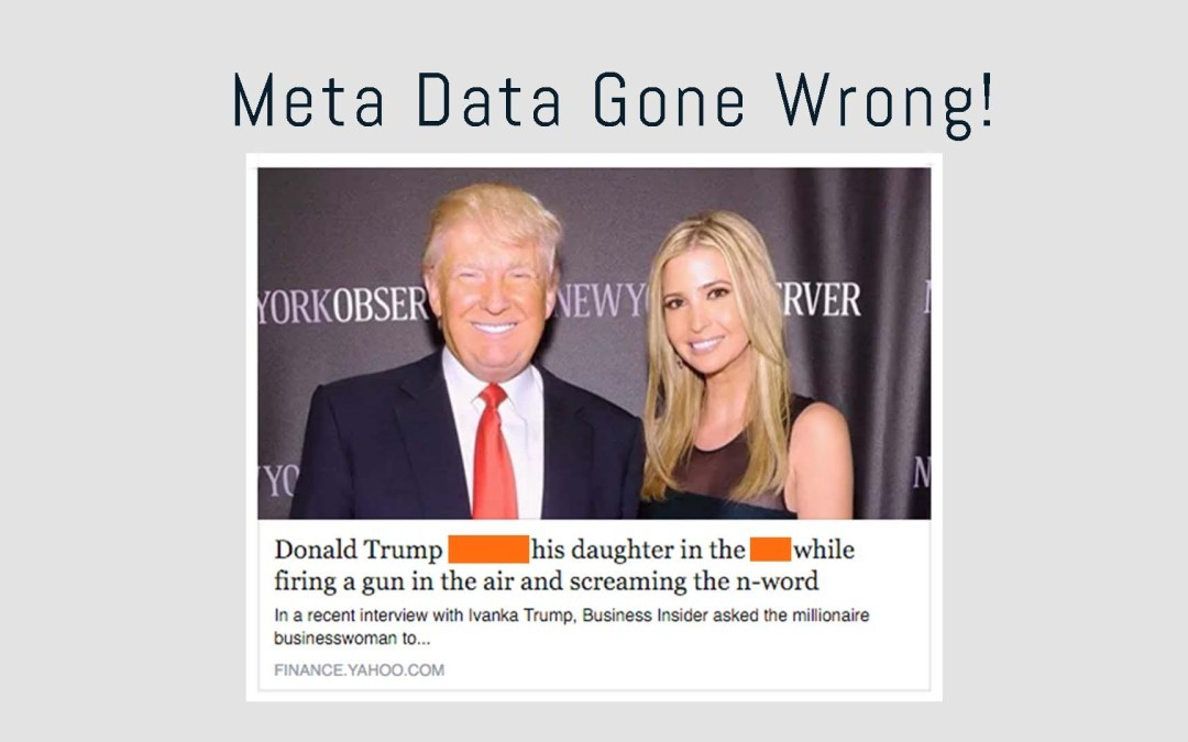 How to Not Mess-up Your Meta Data Like Yahoo Finance